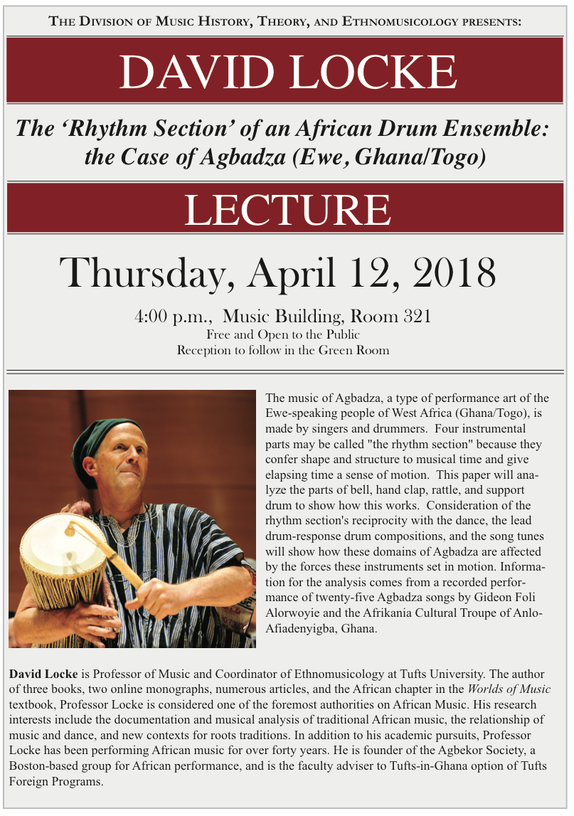 Lecture Series | Music History, Theory, and Ethnomusicology
